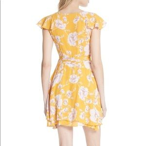 Free People Dresses - Free people French quarter floral mini wrap dress